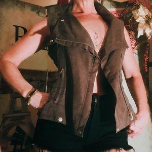 Vintage Olive Vest